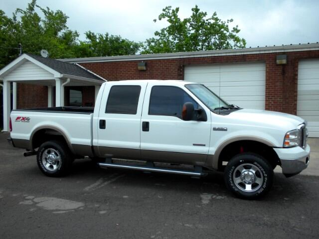 2007 Ford F-250 SD SUPER NICE 4WD CREW CAB LEATHER ALL POWER CRUISE CLEAN CARFAX TIS FORD IS P
