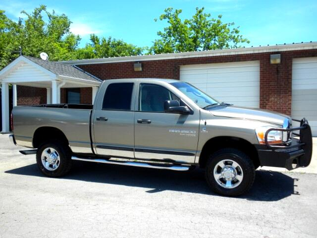 2006 Dodge Ram 2500 CHECK OUT THE MILES ON THIS DODGE 4WD QUAD CAB ALL POWER LIKE NEW TIRES CUST