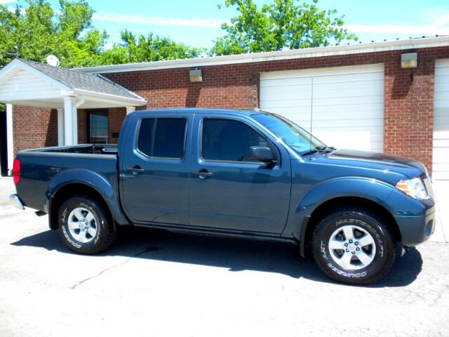 2013 Nissan Frontier LOCAL TRADE CLEAN CARFAX 1 OWNER CREW CAB 4WD ALL POWER CRUISE COME BY SHE