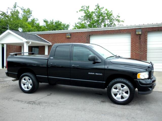 2002 Dodge Ram 1500 CHECK OUT THIS LOW MILEAGE DODGE 4WD FRESH TRADE 1 OWNER CLEAN CARFAX LEATHE