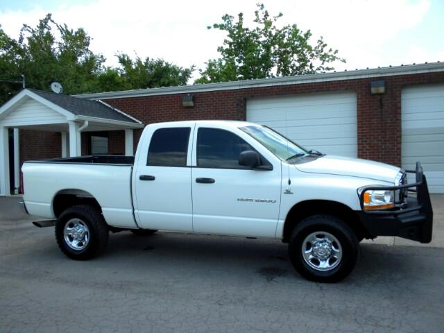 2006 Dodge Ram 2500 CHECK OUT THIS DODGE 4WD QUAD CAB GOOD TIRES CUSTOM BUMPER CLEAN CARFAX THI