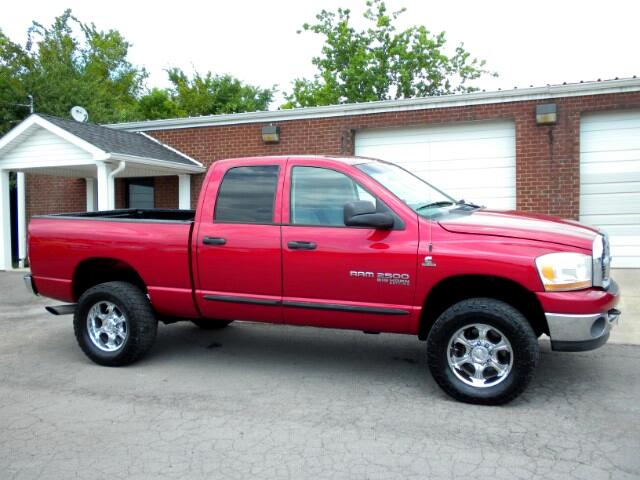 2006 Dodge Ram 2500 CHECK OUT THIS DODGE 1 OWNER CLEAN CARFAX 4WD QUAD CAB ALL POWER GOOD TIRES