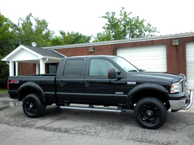 2005 Ford F-250 SD SHARP FORD 4WD CREW CAB LEATHER ALL POWER CLEAN CARFAX GOOD TIRES THIS FORD