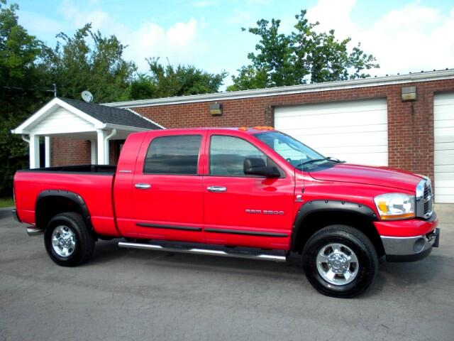 2006 Dodge Ram 2500 WOW CHECK OUT THIS RARE LOW MILEAGE MEGA CAB 4WD ALL POWER CRUISE CLEAN C