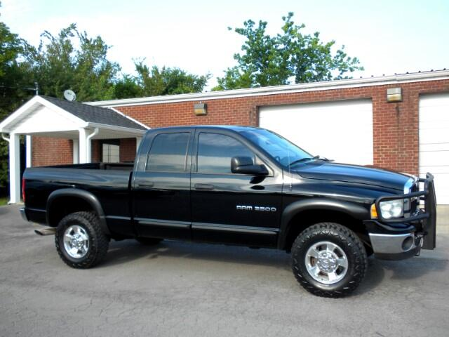 2005 Dodge Ram 2500 CHECK OUT THIS 1 OWNER CLEAN CARFAX 2500 4WD QUAD CAB GOOD TIRES ALL POWER C