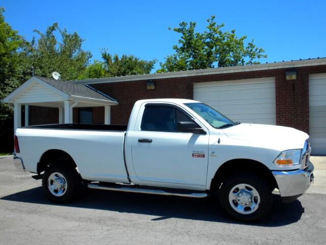2012 RAM 2500 WOW CHECK OUT THIS 2500 REG CAB 4WD GOOD TIRES POWER WINDOWS AND LOCKS CRUISE THI