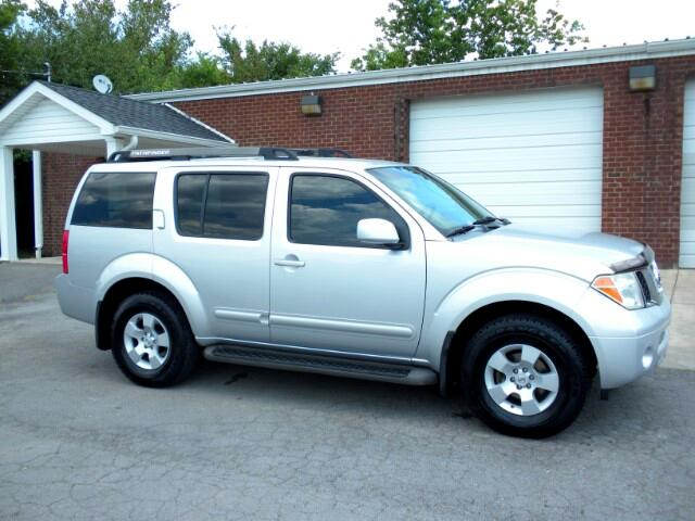 2007 Nissan Pathfinder CHECK OUT THIS PATHFINDER LOCAL TRADE LADY DRIVEN NON SMOKER CLEAN CARFAX