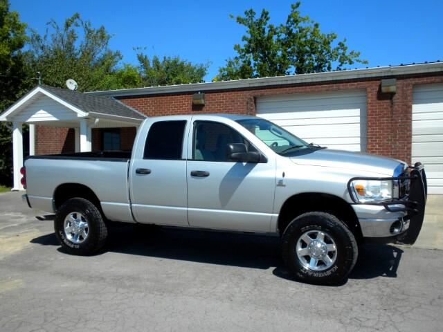2007 Dodge Ram 2500 CHECK OUT THIS LOW MILEAGE 2500 4WD QUAD CAB GOOD TIRES CLEAN CARFAX THIS T