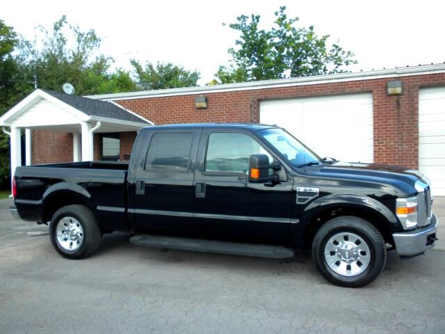 2008 Ford F-250 SD CHECK OUT THIS V-10 1 OWNER CLEAN CARFAX CREW CAB LARIAT ALL POWER LEATHER HEA