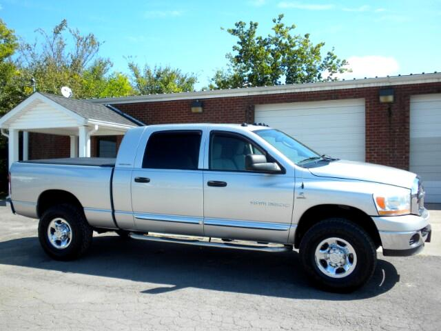 2006 Dodge Ram 3500 NICE MEGA CAB 4WD NEW TIRES 1 OWNER CLEAN CARFAX THIS DODGE IS POWERED BY A