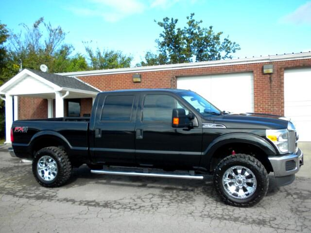2012 Ford F-250 SD CHECK OUT THIS FORD F-250 4WD 1 OWNER CLEAN CARFAX GOOD TIRES ADJUSTABLE PEDAL