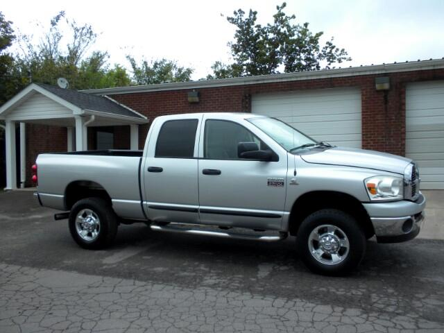 2007 Dodge Ram 2500 CHECK OUT THIS DODGE 4WD POWER SEAT GOOD TIRES 1 OWNER CLEAN CARFAX THIS TR