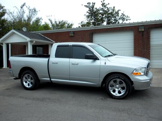 2012 RAM 1500 CHECK OUT THIS LOCAL TRADE GOOD TRES QUAD CAB CLEAN CARFAX POWER WINDOWS AND LOCKS