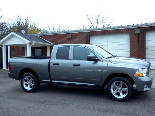 2012 RAM 1500 LOCAL TRADE NICE TRUCK GOOD TIRES CRUISE LOW MILES TOW PACKAGE COME BY SHELBYVI