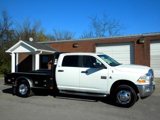 2011 Dodge Ram 3500 CHECK OUT THIS FLATBED ITS READY TO WORK 4WD CREW CAB ALL POWER NAV GOOD TIR