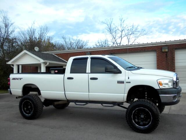 2008 Dodge Ram 2500 SHARP TRUCK CHECK OUT THIS WHEELS AND TIRES CLEAN CARFAX FRESH TRADE 4WD QU