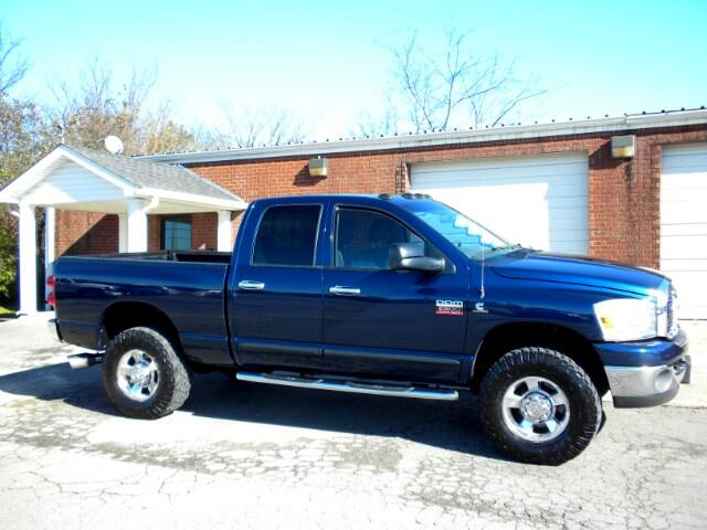 2007 Dodge Ram 2500 NICE TRCUK 4WD 1 OWNER CLEAN CARFAX ALL POWER GOOD TIRES QUAD CAB THIS TRUC