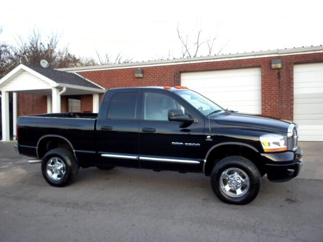 2006 Dodge Ram 2500 CHECK OUT THIS DODGE LOW MILES LEATHER ADJUSTABLE PEDALS LEATHER HEATED SEAT