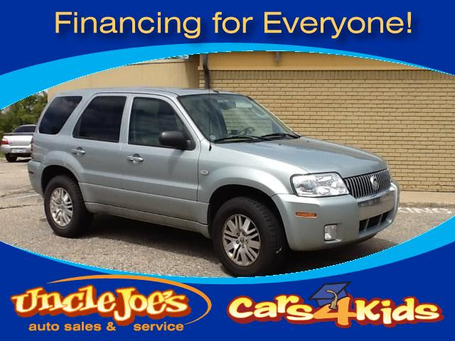 2006 Mercury Mariner If you would have seen the van these people bought that traded in this truck y