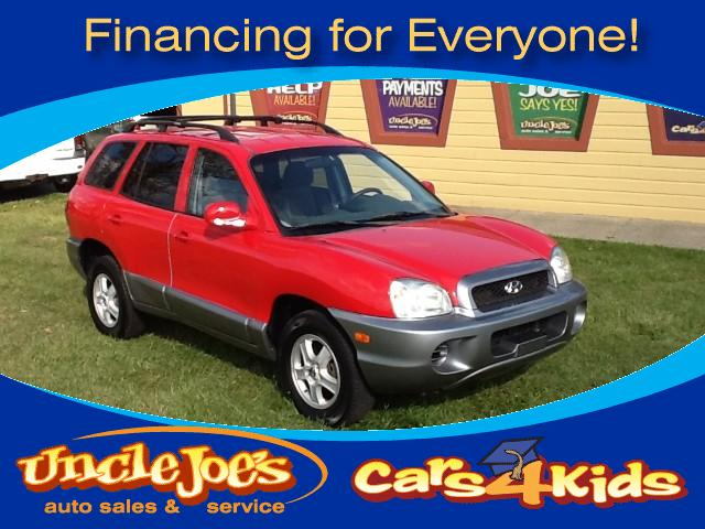 2004 Hyundai Santa Fe This car is from Floridano rustclean clean inside and outand a