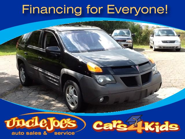 2001 Pontiac Aztek T R A N S P O R T A T I O Nthat is what this car isdepending on how y