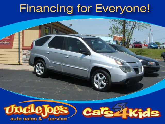 2005 Pontiac Aztek Now I dont mean to bragor show offbut look at the bottoms of the doors