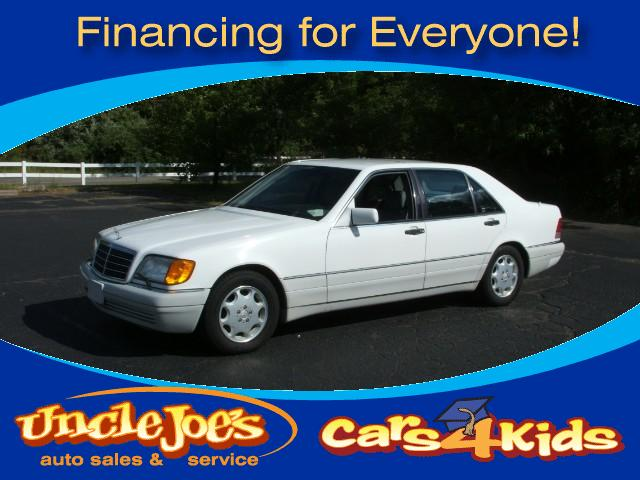 1995 Mercedes S-Class Whatwhatthis car has BULLET PROOF GLASS YEPand it is lo