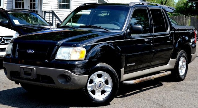 2001 Ford Explorer Sport Trac What a great car for any kid4x4 so they wont get stuck in the s