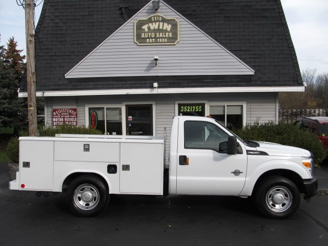 2011 Ford F-350 SD Regular Cab Open Utility Body 2WD