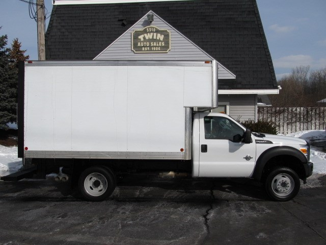 2013 Ford F-550 Regular Cab 12' Box with Attic  DRW 2WD