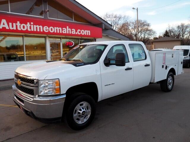 2012 Chevrolet Silverado 2500HD Crew Cab LS 4WD  8 Foot Utilty Box