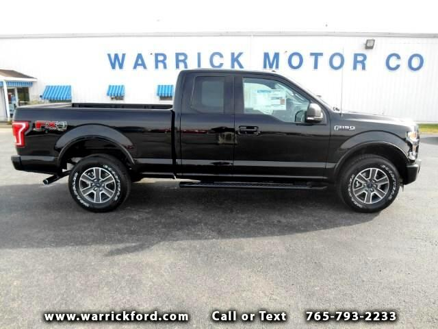 2016 Ford F-150 XLT SuperCab Short Bed 4WD
