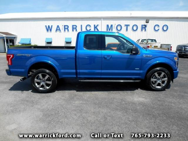 2017 Ford F-150 4WD SuperCab 145