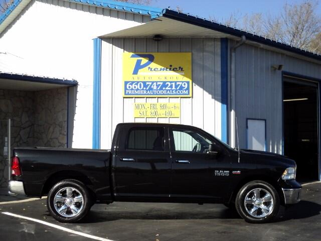 "2015 RAM 1500 Big Horn 4x4 Crew Cab 5'7"" Box"