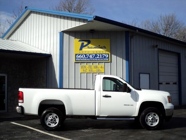 2012 GMC Sierra 2500HD Work Truck Long Box 2WD
