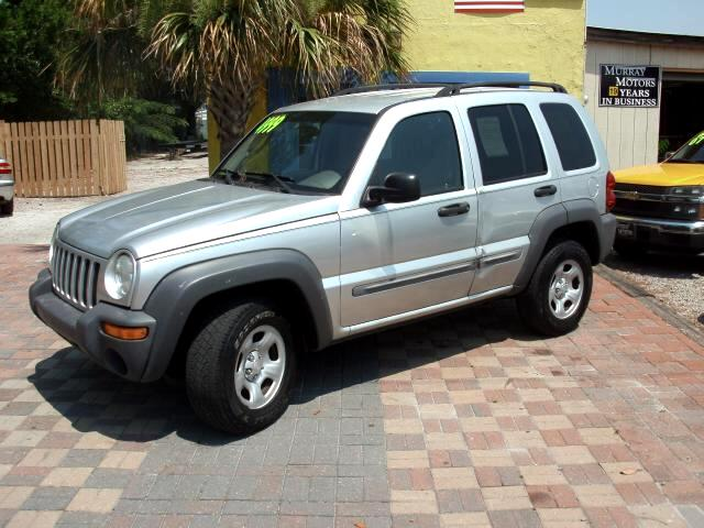 2002 Jeep Liberty Sport 4WD 2inch lift 