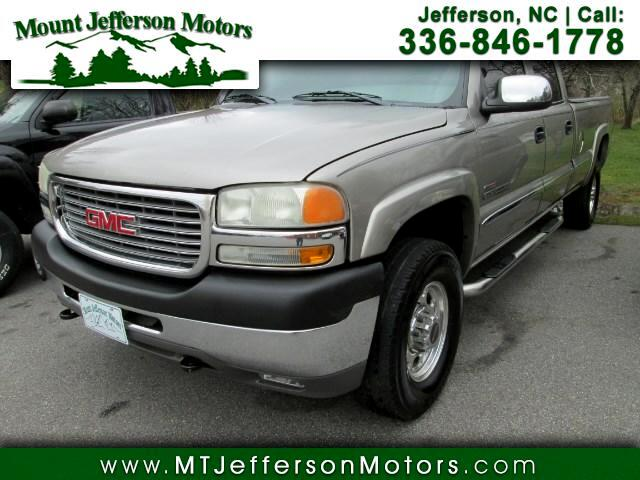 2002 GMC Sierra 2500HD SLT Double Cab 2WD