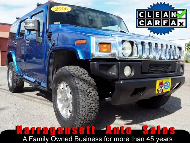 2006 HUMMER H2 H2 4X4 Fully Loaded Moonroof Leather Navigation 40