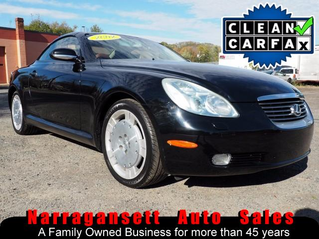 2002 Lexus SC 430 Convertible Loaded Black w/ Saddle Leather NAV 125