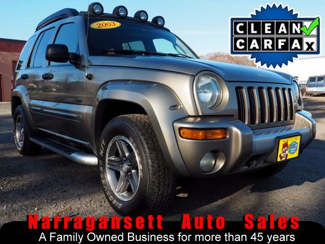 2003 Jeep Liberty Renegade 4X4 V-6 Auto Air Full Power Moonroof