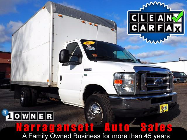 2011 Ford E350 14' Box Truck V-8 Auto Air 1-Owner 120K Like New