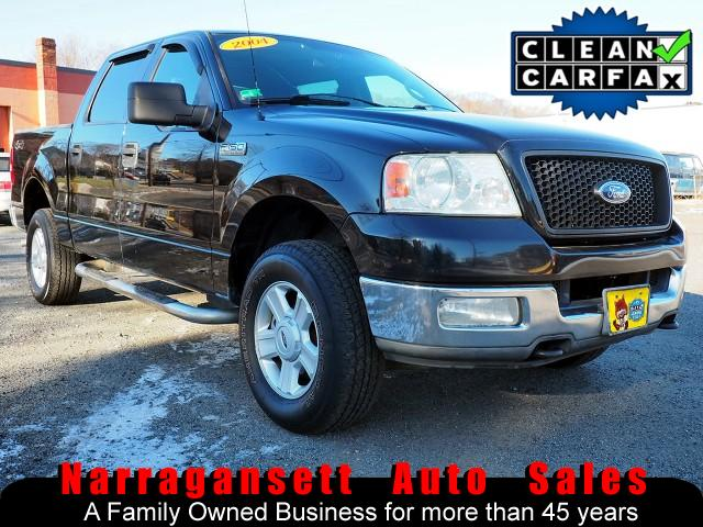 2004 Ford F-150 XLT 4X4 SuperCrew V-8 Auto Air Full Power