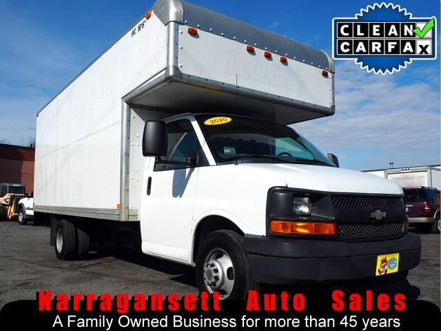 2010 Chevrolet Express 3500 16' Box Truck V-8 Auto Air Like New