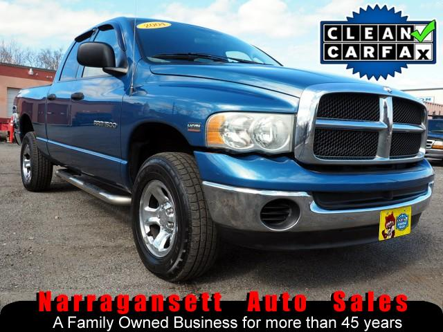 2004 Dodge Ram 1500 4X4 Quad Cab Hemi V-8 Auto Air Full Power