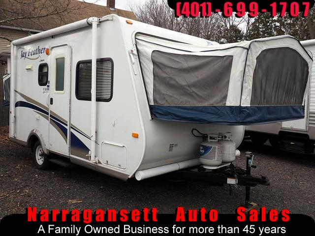 2010 Jayco Jay Feather 17' Hybrid Front + Rear Tents Sleeps 6-8 Super Cle