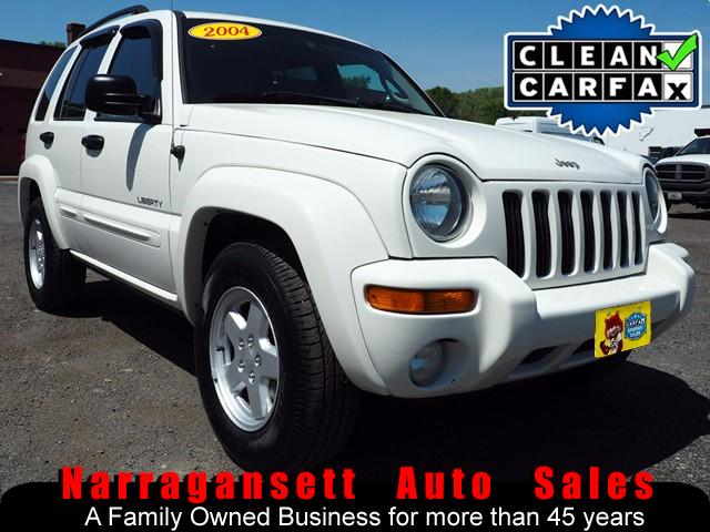 2004 Jeep Liberty Limited 4X4 V-6 Auto Air Full Power Moonroof