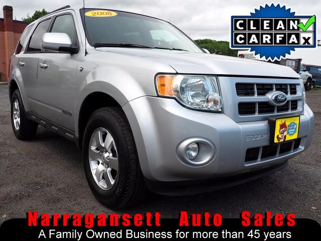 2008 Ford Escape Limited 4X4 V-6 Auto Air Full Power Leather