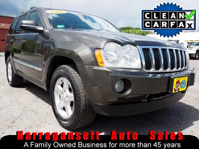 2005 Jeep Grand Cherokee Limited 4X4 Leather Moonroof DVD Super Clean