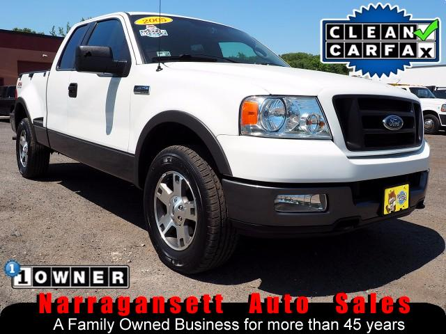 2005 Ford F-150 FX4 Flareside SuperCab 1-Owner Rust Free 112K