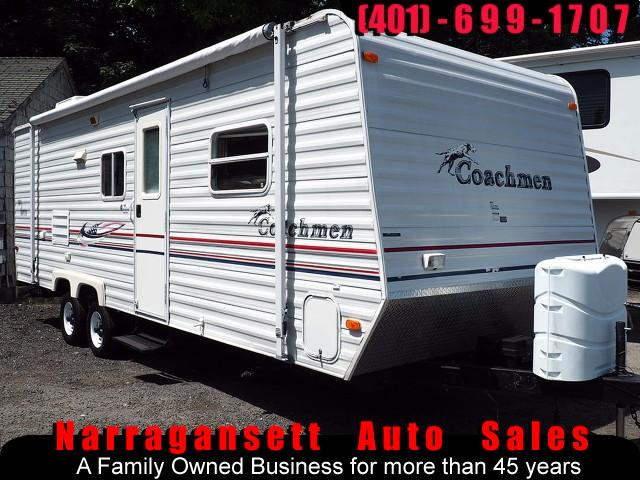 2005 Coachmen Spirit of America 24' Front Bed Rear Bunks Sleeps 6 Super Clean